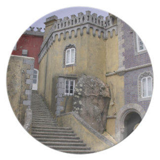 Europe, Portugal, Sintra. The Pena National 2 Plate