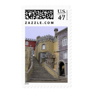 Europe, Portugal, Sintra. The Pena National 2 Postage