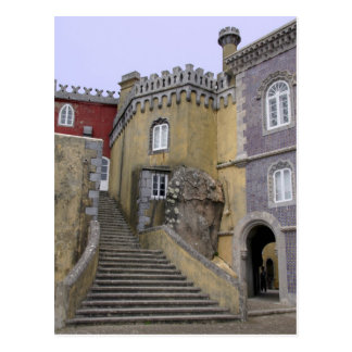 Europe, Portugal, Sintra. The Pena National 2 Postcards