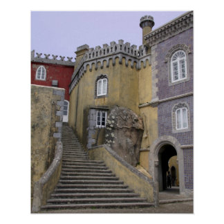 Europe, Portugal, Sintra. The Pena National 2 Poster