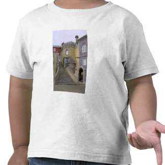 Europe, Portugal, Sintra. The Pena National 2 T-shirt