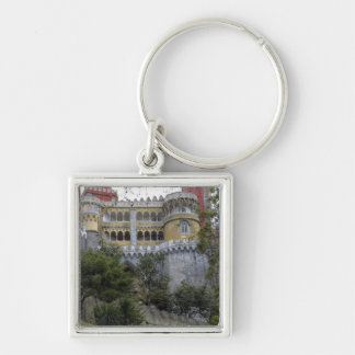 Europe, Portugal, Sintra. The Pena National 3 Key Chain