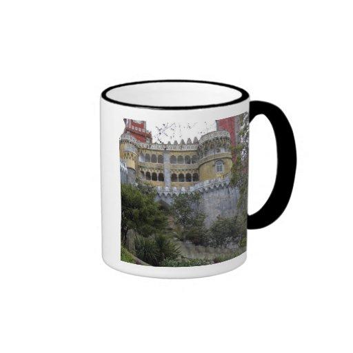 Europe, Portugal, Sintra. The Pena National 3 Ringer Coffee Mug