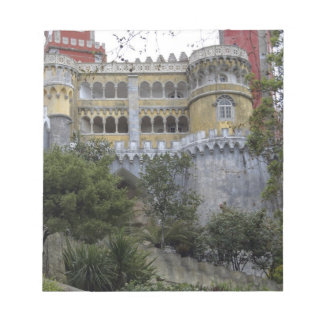 Europe, Portugal, Sintra. The Pena National 3 Notepad