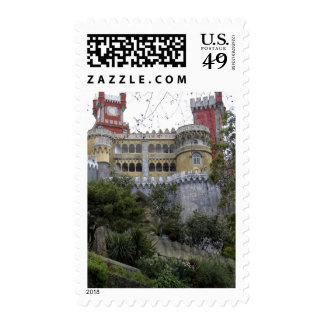 Europe, Portugal, Sintra. The Pena National 3 Postage Stamps