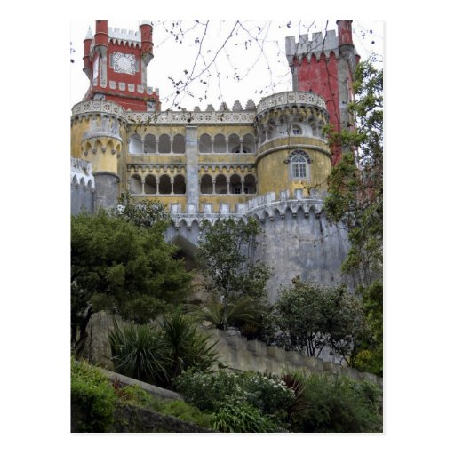 Europe, Portugal, Sintra. The Pena National 3 Post Cards