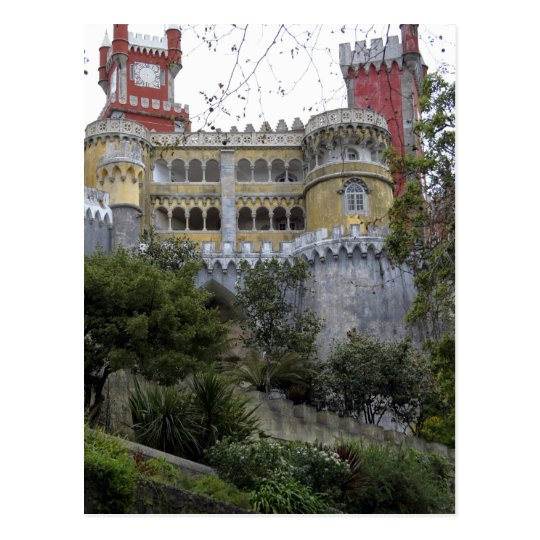 Europe, Portugal, Sintra. The Pena National 3 Postcard
