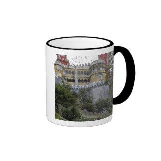 Europe, Portugal, Sintra. The Pena National 3 Ringer Mug