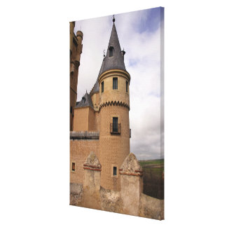 Europe, Portugal, Sintra. The Pena National Canvas Print