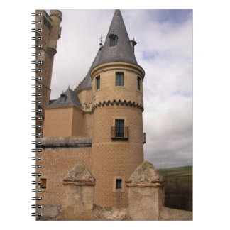 Europe, Portugal, Sintra. The Pena National Spiral Notebook