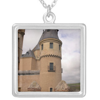 Europe, Portugal, Sintra. The Pena National Square Pendant Necklace
