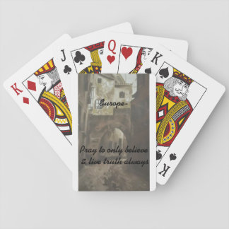 -Europe, pray/Set of cards Poker Cards