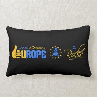 EUROPE ROCKS custom throw pillow