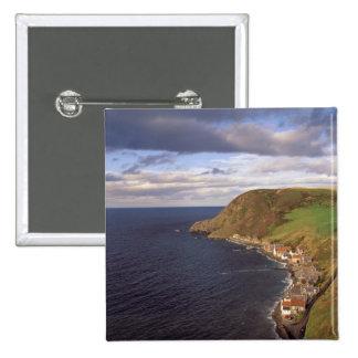 Europe, Scotland, Aberdeen. Overhead view of Button