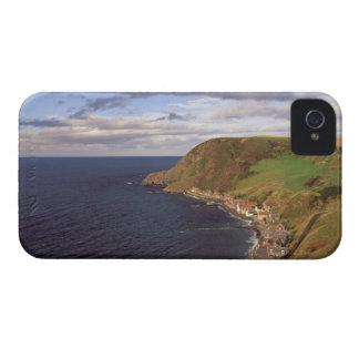 Europe, Scotland, Aberdeen. Overhead view of Case-Mate iPhone 4 Case