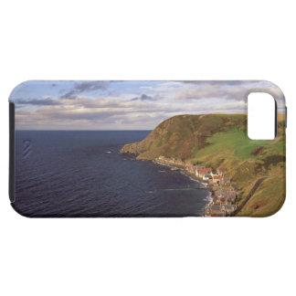 Europe, Scotland, Aberdeen. Overhead view of iPhone SE/5/5s Case