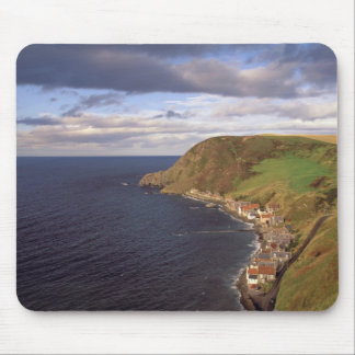 Europe, Scotland, Aberdeen. Overhead view of Mouse Pad