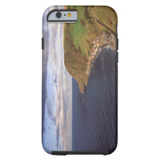 Europe, Scotland, Aberdeen. Overhead view of Tough iPhone 6 Case