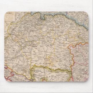 Europe, Slovakia, Hungary Mouse Pad