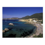 Europe, Spain, Balearics, Ibiza, Cala de Postcard