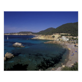 Europe, Spain, Balearics, Ibiza, Cala de Poster