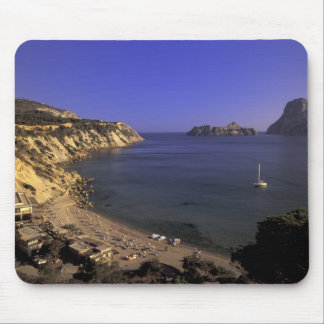 Europe, Spain, Balearics, Ibiza, Cala d'Hort Mouse Pad