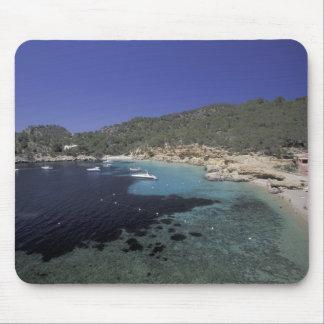 Europe, Spain, Balearics, Ibiza, Cala Salada. Mouse Pad