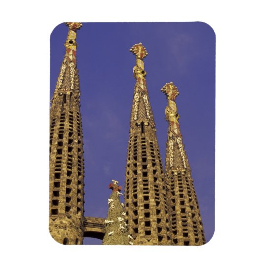 Europe, Spain, Barcelona Sagrada Familia Magnet