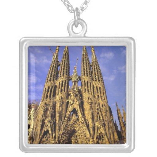 Europe, Spain, Barcelona, Sagrada Familia Necklace