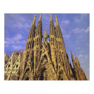 Europe, Spain, Barcelona, Sagrada Familia Panel Wall Art