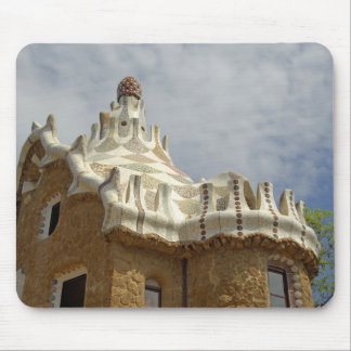 Europe, Spain, Catalunya, Barcelona. Park Guell, 2 Mouse Pad