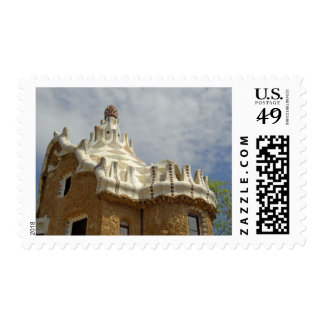 Europe Spain Catalunya Barcelona Park Guell 2 Postage