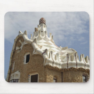 Europe, Spain, Catalunya, Barcelona. Park Guell, Mouse Pad