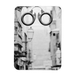 Europe, Spain, Mallorca. Eyeglass shop sign, Rectangular Photo Magnet