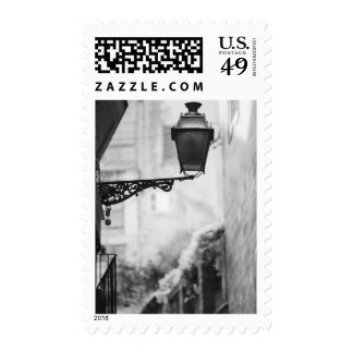 Europe, Spain, Mallorca. Street lamps, Palma Postage Stamps