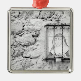 Europe, Spain, Mallorca. The Holy Wall, Metal Ornament