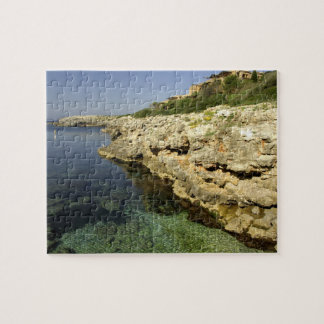 Europe, Spain, Minorca (aka Menorca), Binibeca. 2 Jigsaw Puzzle