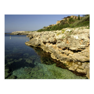 Europe, Spain, Minorca (aka Menorca), Binibeca. 2 Postcard