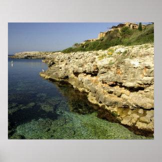 Europe, Spain, Minorca (aka Menorca), Binibeca. 2 Print