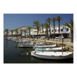 Europe, Spain, Minorca (aka Menorca). Fishing Card