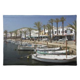 Europe, Spain, Minorca (aka Menorca). Fishing Placemat