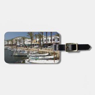 Europe, Spain, Minorca (aka Menorca). Fishing Tag For Luggage