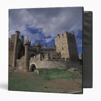 Europe, Spain, Ponferrada, Leon. Templer Vinyl Binder