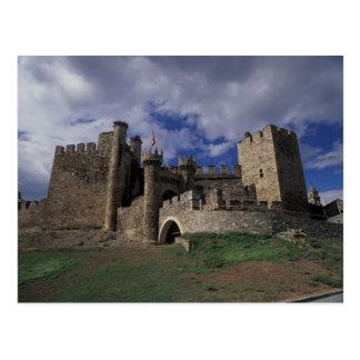 Europe, Spain, Ponferrada, Leon. Templer Postcard