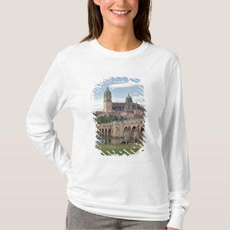 Europe, Spain, Salamanca. The Roman bridge over T-Shirt