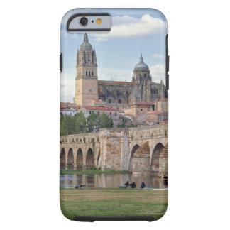 Europe, Spain, Salamanca. The Roman bridge over Tough iPhone 6 Case