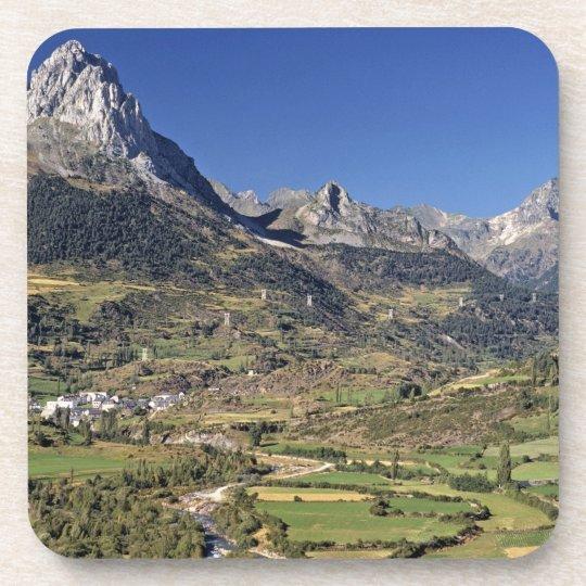 Europe, Spain, Sallent de Gallego. A small Drink Coaster