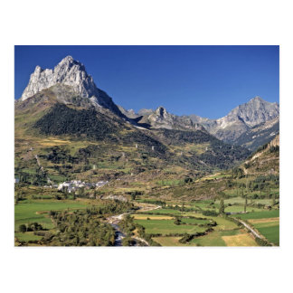 Europe, Spain, Sallent de Gallego. A small Postcard