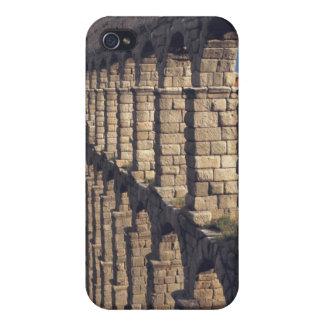 Europe, Spain, Segovia. Late light casts shadows iPhone 4 Case