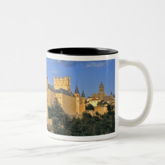 Europe, Spain, Segovia. The Alcazar, a World Two-Tone Coffee Mug